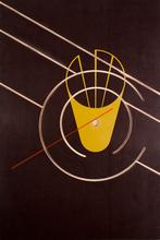 Siebdruck und Fräsung auf Holzplatte Andreas Mitterer 2013