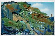 Malerei Öl auf Ansichtskarte Mitterer 2007