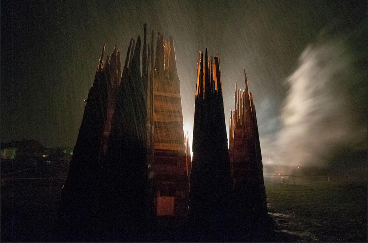 Untergang Feuershow 2012